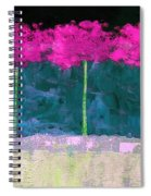 Fuschia Trees Spiral Notebook