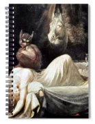 Fuseli: Nightmare, 1781 Spiral Notebook