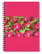 Fushia Fruit Spiral Notebook