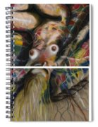Fusion II - Diptych Spiral Notebook