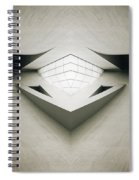 Futuristic Architecture One Spiral Notebook