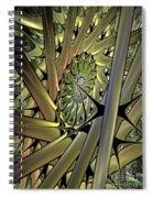 Futuristic Realm Spiral Notebook