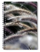 Fuzzy Spiral Notebook