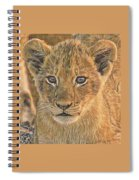 Fuzzy Cubby Spiral Notebook