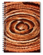 Fuzzy Rock Abstract Spiral Notebook