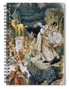 G. Cleveland Cartoon Spiral Notebook