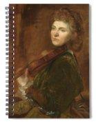 G F Watts Spiral Notebook