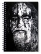 Gaahl Spiral Notebook