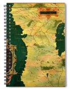 Gabon, Angola And Congo Spiral Notebook