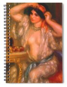 Gabrielle At The Mirror 1910 Spiral Notebook