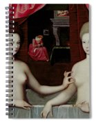 Gabrielle Destrees And Her Sister The Duchess Of Villars Spiral Notebook