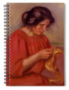 Gabrielle Mending 1908 Spiral Notebook