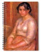 Gabrielle Seated Spiral Notebook