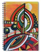 Gaia's Dream Spiral Notebook