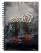 Gaia's Tears Spiral Notebook