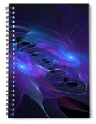 Galactic Duel Spiral Notebook