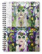 Galadriel Progression Spiral Notebook