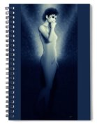 Galatea In Blue Spiral Notebook