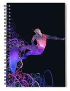 Galaxy Surfer 3 Spiral Notebook