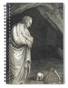 Galen, Greek Physician And Philosopher Spiral Notebook