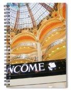 Galeries Lafayette Inside 2 Art Spiral Notebook