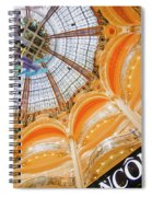 Galeries Lafayette Inside Art Spiral Notebook