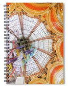 Galeries Lafayette Inside 4 Art Spiral Notebook