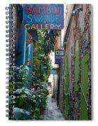 Gallery Alley Spiral Notebook