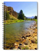 Gallitan River 1 Spiral Notebook
