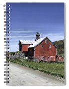 Gallop Road Barn Spiral Notebook