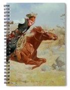 Galloping Horseman Spiral Notebook