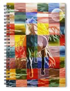 Galloping In The Night Spiral Notebook