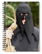Gallows Hangman With Noose Spiral Notebook