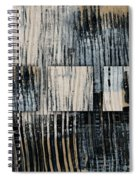 Galvanized Paint Number 1 Horizontal Spiral Notebook