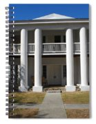 Gamble Mansion Parrish Florida Spiral Notebook