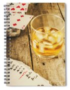 Gamblers Still Life Spiral Notebook