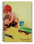 Game At The Beach - Juego En La Playa Spiral Notebook