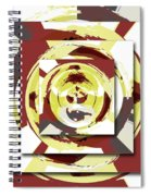 Game Of Shapes Spiral Notebook