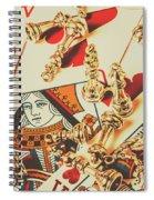 Games Of Love Spiral Notebook