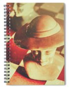 Games Of The Wild West Spiral Notebook