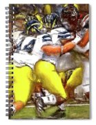 Gang Of Wolverines Spiral Notebook