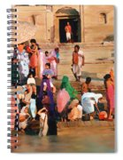 Ganges Spiral Notebook
