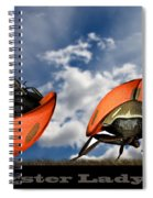Gangster Ladybugs Nature Gone Mad Spiral Notebook