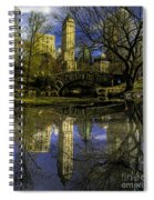 Gapstow Bridge In Central Park Spiral Notebook