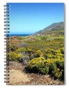 Garapata Beauty Spiral Notebook