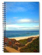 Garapata State Park South Of Monterey Ca Seven Spiral Notebook