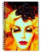 Garboesque Spiral Notebook