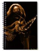 Garciart #14 In Amber With A Twist Spiral Notebook