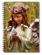 Garden Angel Spiral Notebook