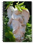 Garden Angel Spiral Notebook